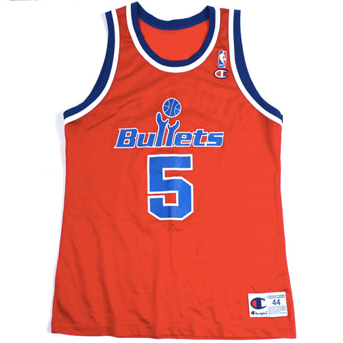 Vintage Juwan Howard Washington Bullets Champion Jersey