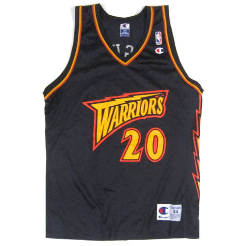 Vintage Larry Hughes Golden State Warriors Champion Jersey