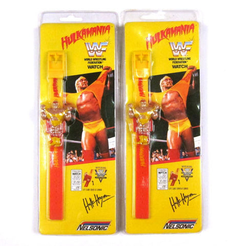 Vintage Hulk Hogan WWF Watch