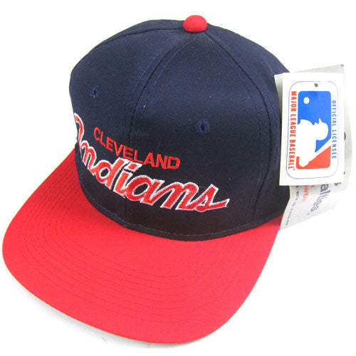 Vintage Cleveland Indians Sports Specialties Snapback Hat NWT