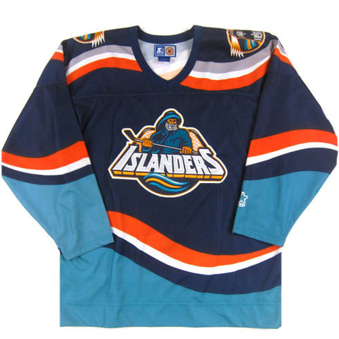 new product a2404 0d8ff Vintage New York Islanders Fisherman Starter Jersey – For ...