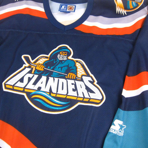 Vintage New York Islanders Fisherman Starter Jersey – For All To Envy 4435c68ae