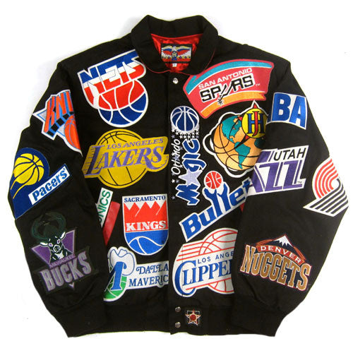 official photos 80746 6bdc6 Vintage Jeff Hamilton NBA Jacket NWT