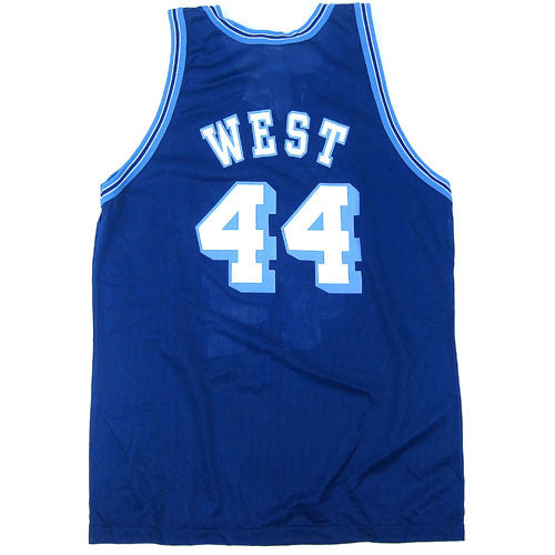 Vintage Jerry West LA Lakers NBA 50 Champion Jersey NWT 90s NBA basketball  – For All To Envy 36c27626e