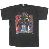 Vintage Bulls vs Lakers 1991 NBA Finals T-shirt