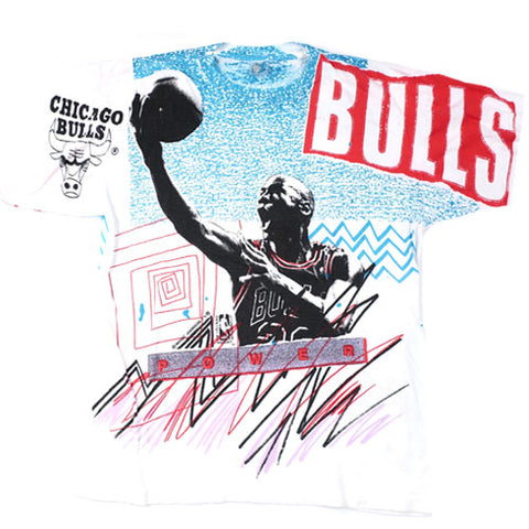 Vintage Michael Jordan Chicago Bulls Power T-shirt