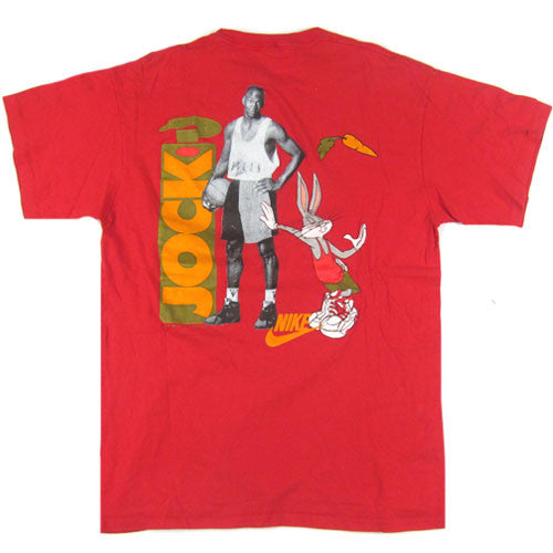 ef2f38f8c89 Vintage Michael Jordan Bugs Bunny Whats Up Jock? T-Shirt 1991 Space Jam NBA  Basketball Nike – For All To Envy