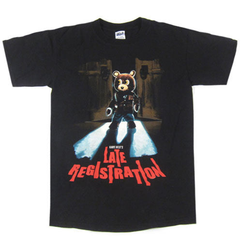 Vintage Kanye West Late Registration Tour T-Shirt