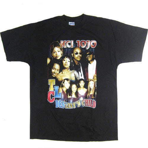 Vintage K-Ci JoJo TLC Destiny's Child 1999 T-shirt Rap Hip ...