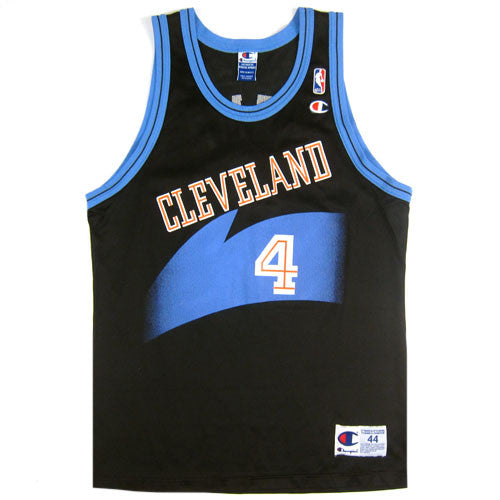 29257fafbd4 Vintage Shawn Kemp Cleveland Cavs Champion Jersey 90s NBA Basketball – For  All To Envy