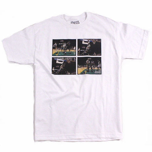 Shawn Kemp Dunk NBA T Shirt Seattle Supersonics Sonics