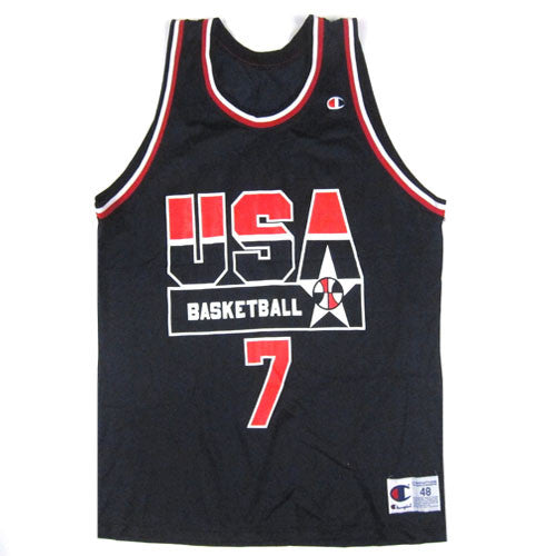 Vintage Shawn Kemp USA Dream Team Champion Jersey