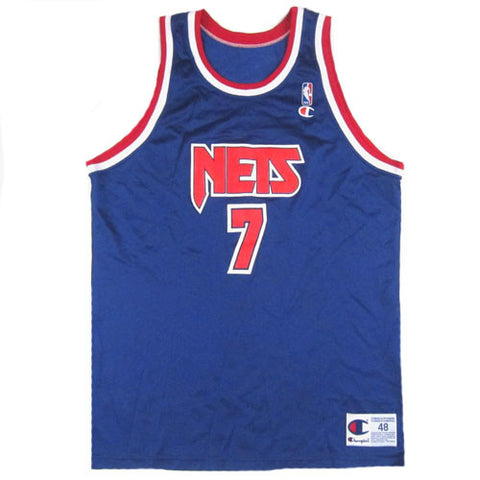 Vintage Kenny Anderson New Jersey Nets Champion Jersey