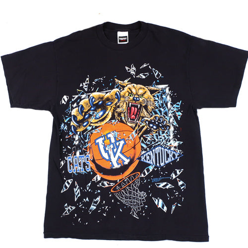 Vintage Kentucky Wildcats Shattered Backboard T-shirt