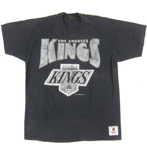 27c676c05 Vintage Los Angeles LA Kings T-shirt 90s NHL Hockey Greztky – For All To  Envy