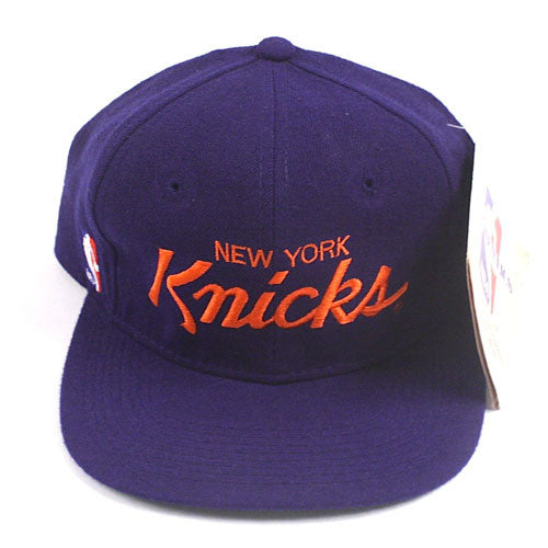 Vintage New York Knicks Script Snapback