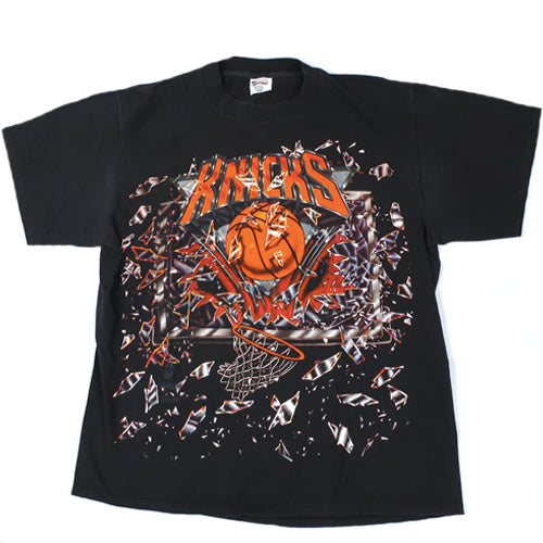 Vintage New York Knicks Shattered Backboard T-shirt