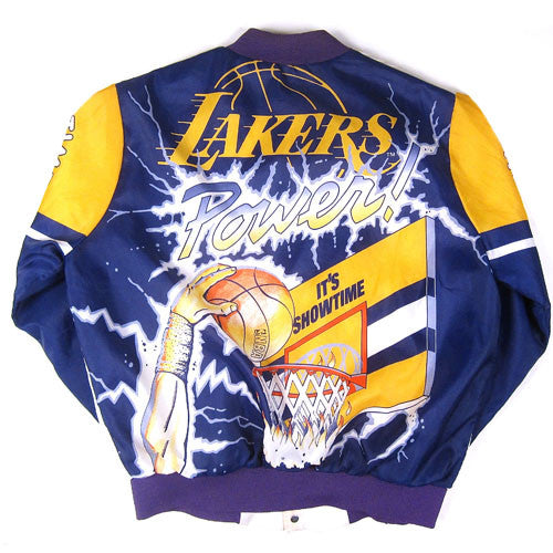 Vintage Los Angeles Lakers Chalk Line Jacket