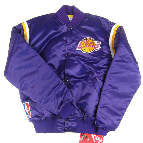 Vintage Los Angeles Lakers Starter Jacket Nwt Nba Basketball For All To Envy
