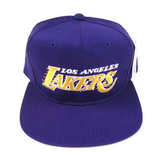 59acca9fd59 Vintage LA Lakers Starter Snapback Hat NWT NBA basketball Los Angeles – For  All To Envy