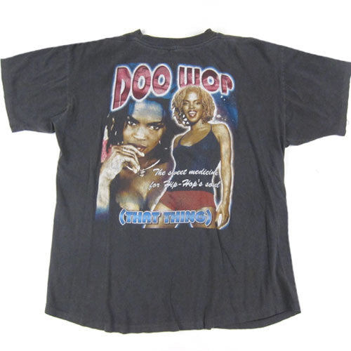 d6953912 Vintage Lauryn Hill Too Wop T-Shirt 1998 Hip Hop Rap Fugees – For All To  Envy