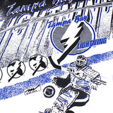 Vintage Tampa Bay Lightning all over print t-shirt NWT