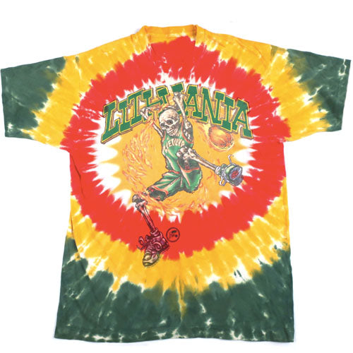 Vintage Lithuania Basketball 1996 The Dye T-shirt