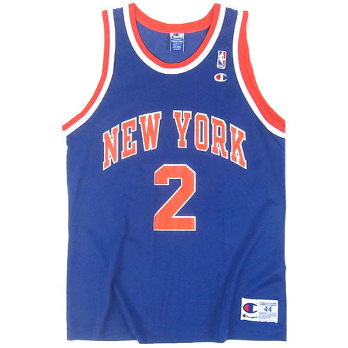 Vintage Larry Johnson NY Knicks Champion Jersey