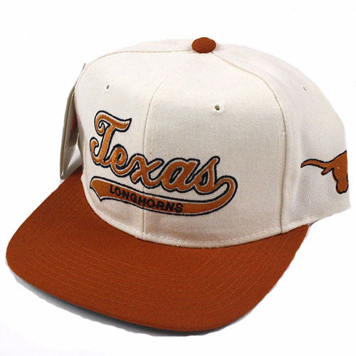 Vintage University of Texas Longhorns Starter snapback hat NWT