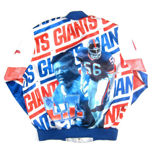 uk availability cf7dd 8b7f9 Vintage Lawrence Taylor NY Giants Chalk Line Jacket NFL ...