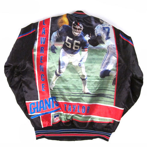 Vintage Lawrence Taylor NY Giants 1991 Jacket