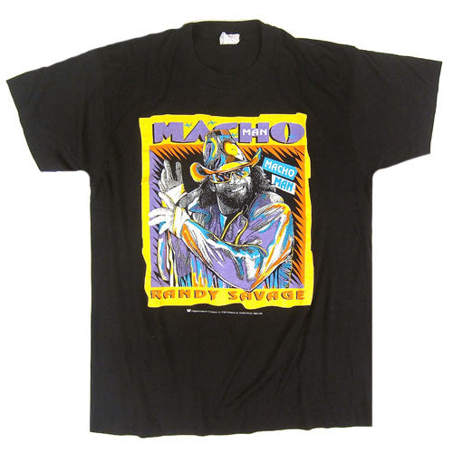 Vintage Macho man Randy Savage 1992 T-Shirt