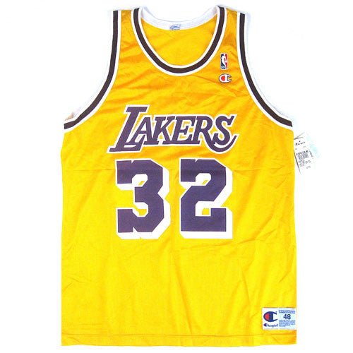 Vintage Magic Johnson LA Lakers Champion Jersey