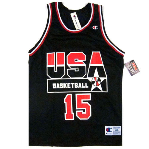 Vintage Magic Johnson USA Dream Team Champion Jersey