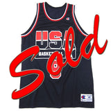 Vintage Dan Majerle USA Dream Team Champion Jersey
