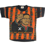 Vintage Malcolm X All Over Print T-shirt