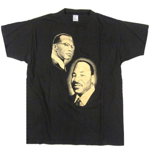 Vintage Malcolm X Martin Luther King T-shirt