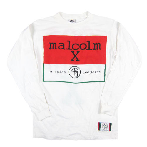 Vintage Malcolm X 1992 Movie Long Sleeve T-Shirt