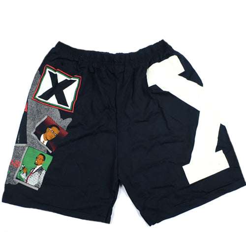 Vintage Malcolm X Shorts 90s By Any Means Necessary – For All To Envy bbe0afec7e3
