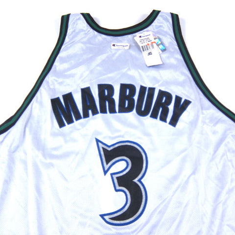 1fc3156622a Vintage Stephon Marbury Minnesota Timberwolves Reversible Jersey NWT ...