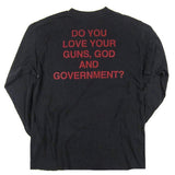 Vintage Marilyn Manson Guns God Government T-shirt