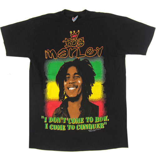 Vintage Bob Marley I Come To Conquer T-Shirt