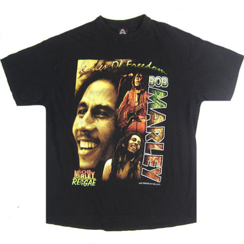 Vintage Bob Marley Who The Cap Fit T-Shirt