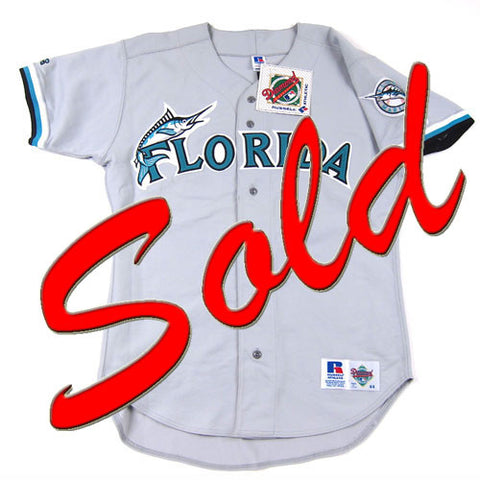 Vintage Authentic Florida Marlins baseball jersey NWT