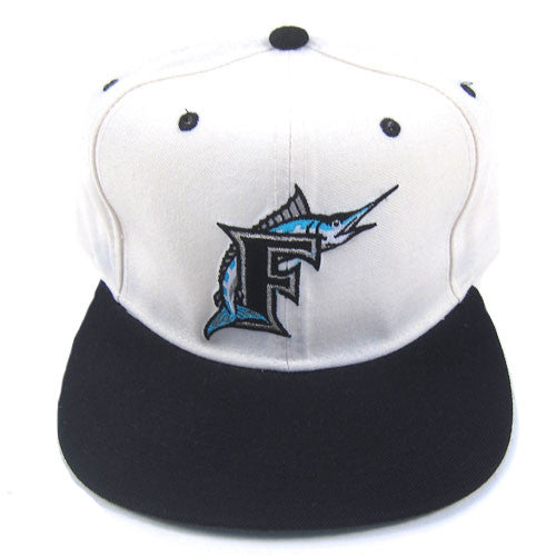 Vintage Florida Marlins New Era Snapback Hat NWT