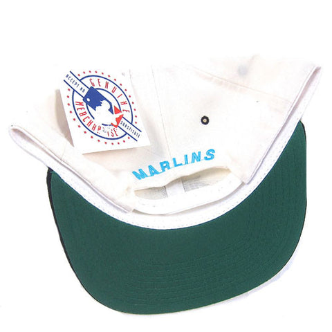 Vintage Snapback Snap Back Hat Florida Marlins New Era MLB Baseball ... 4366569a0cc3