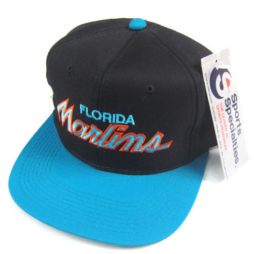 Vintage Florida Marlins Sports Specialties Snapback Hat NWT