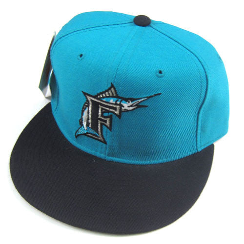 Vintage Florida Marlins New Era Fitted Hat NWT