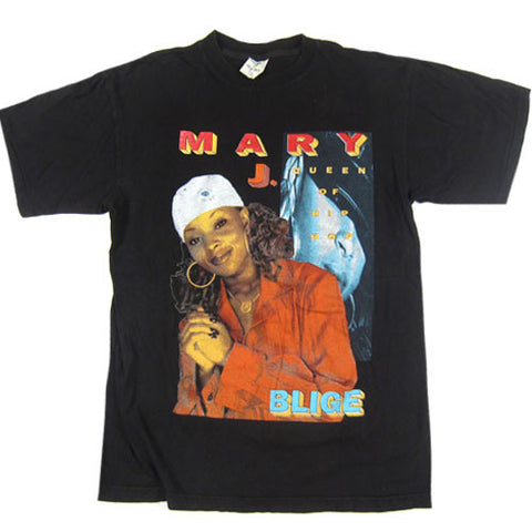 Vintage Mary J. Blige Queen of Hip Hop T-Shirt