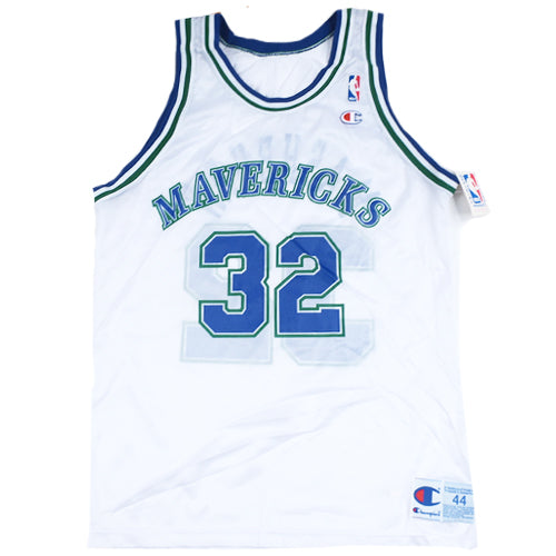 Vintage Jamal Mashburn Dallas Mavericks Jersey
